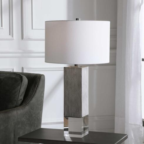$380.00 CORDATA TABLE LAMP 29H