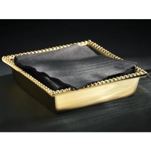 $20.00 GILDED BEADED NAPKIN BOX