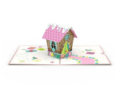 $13.00 Gingerbread House Card