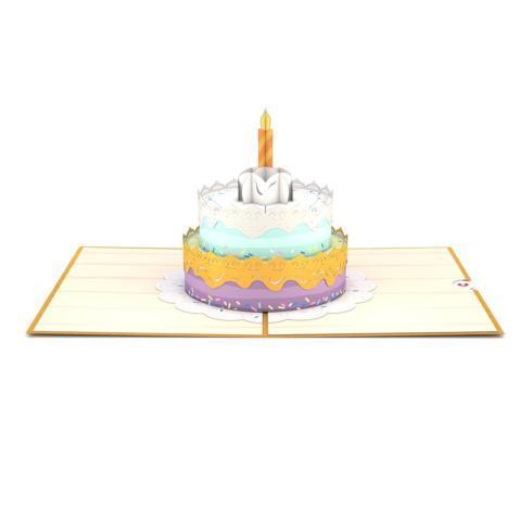 $13.00 Happy Birthday Cake 3D card