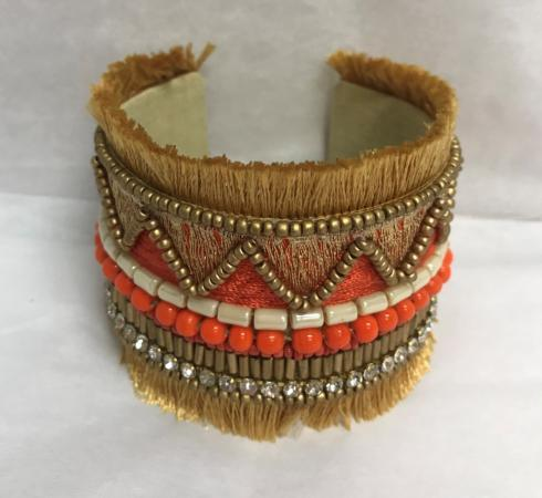 $18.00 SANTAMARIA CUFF ORANGE