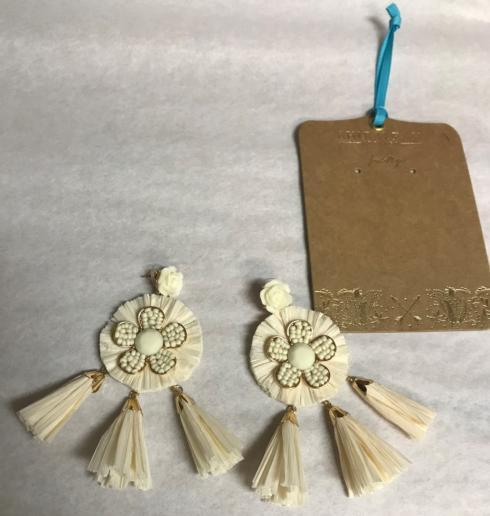 IVORY CONSTANTINA EARRINGS  collection with 1 products