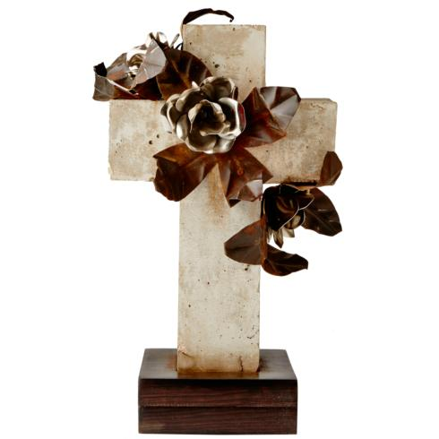$1,030.00 PRIMAVERA WEATHERED STONE CROSS