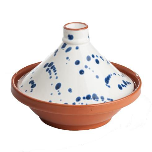 $85.00 BLUE/WHITE SPECKLED TAGINE