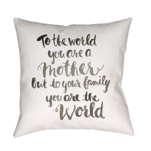 $70.00 You\'re The World Pillow