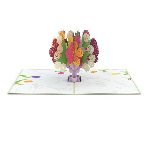 $13.00 Tulip Bouquet 3D Card