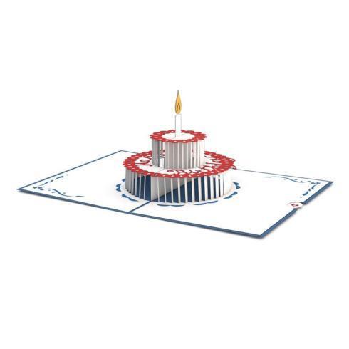 $10.00 Birthday Cake 3D Card
