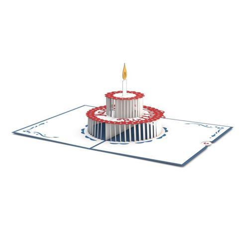 $10.00 Birthday Cake 3D Card