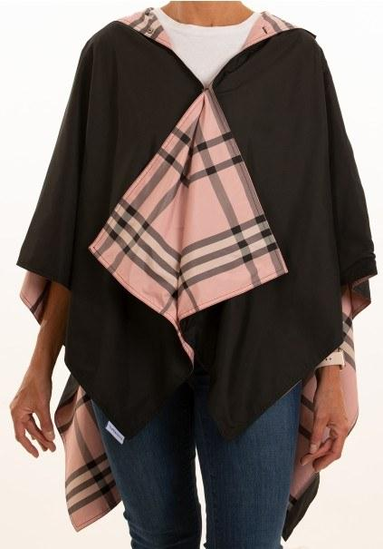 $65.00 Black and Pink RainRap