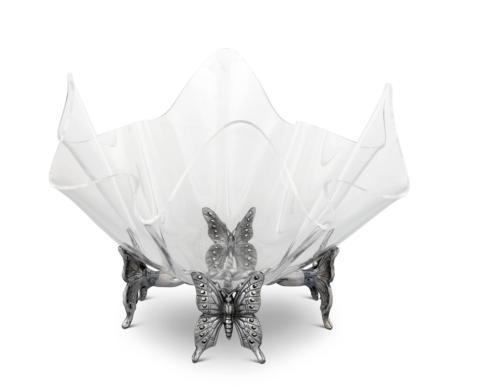 VAGABOND HOUSE BUTTERFLY STAND ACRYLIC BOWL