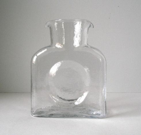 Blenko Glass Co  WATER PITCHER WATER PITCHER CRYSTAL $53.00