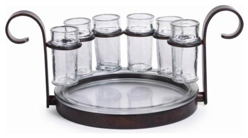 Domain XCIV Exclusives  DINNING AND ENTERTAINMENT FIESTA 6 SHOT TEQUILA SET  $105.00