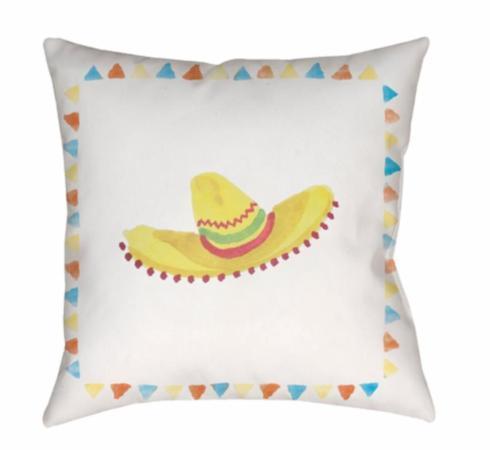 $70.00 Flying Sombrero Outdoor Pillow