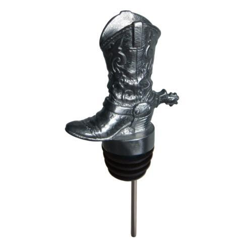 MENAGERIE COWBOY BOOT WINE POURER image
