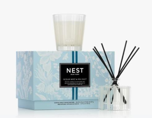 $54.00 OCEAN MIST SEA SALT PETIT CANDLE AND DIFFUSER SE