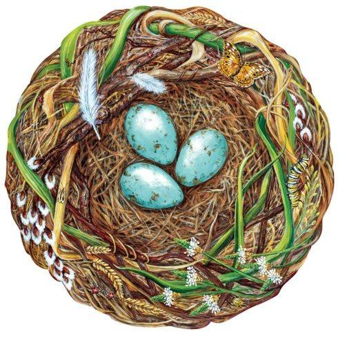$26.00 Woodland Nest Paper Placemats Die-Cut