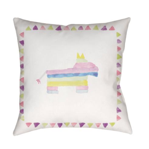 $70.00 Pinata Party Outdoor Pillow