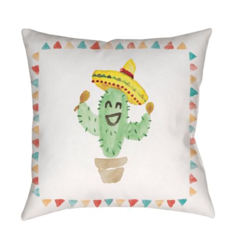 $70.00 Shaky Cacti Outdoor Pillow