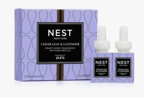 Cedar Leaf & Lavender Refill Duo for Pura Smart Home Fragrance Diffuser