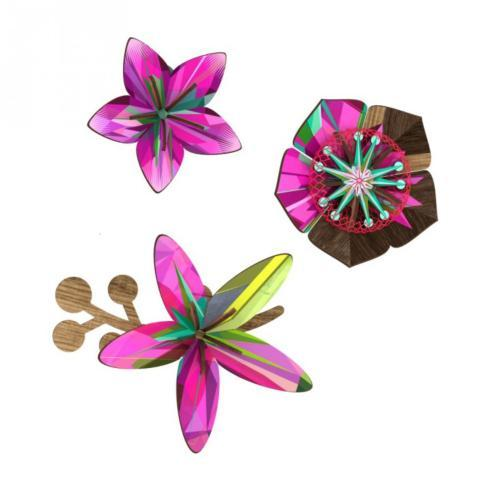 ULTRAVIOLET FLOWER WALL DECOR collection with 1 products