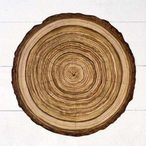 $26.00 Wood Slice Paper Placemats Die-Cut