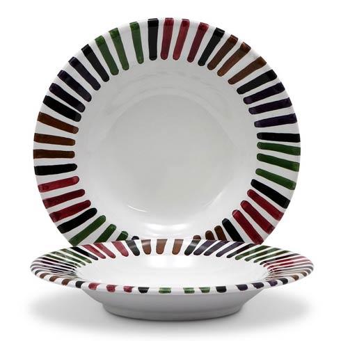 $60.00 Rim Pasta Soup plate