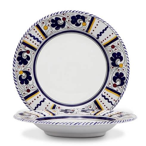 $64.00 Coupe Pasta Soup Bowl (White Center)