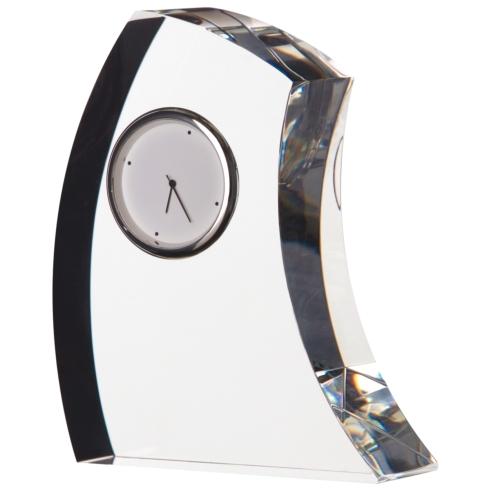 $115.00 Large Crescent Clock