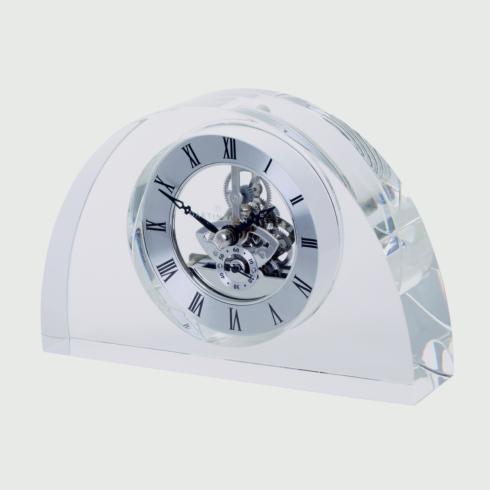$200.00 Half Moon Clock - Clear