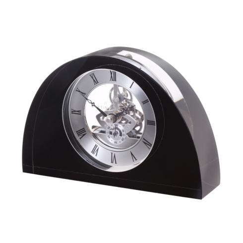 $200.00 Half Moon Clock - Black