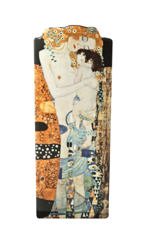 "Dartington Crystal  John Beswick Ceramic Vases Gustav Klimt ""Three ages of Woman"" $50.00"