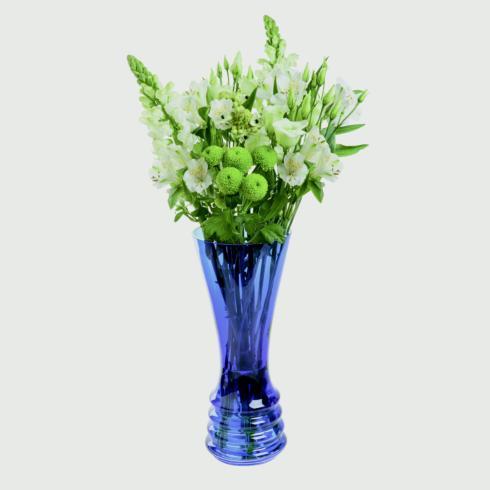 Wibble Color Large Vase Cobalt