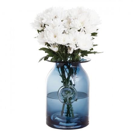 $70.00 RHS-Large Ink Blue Flower Jar