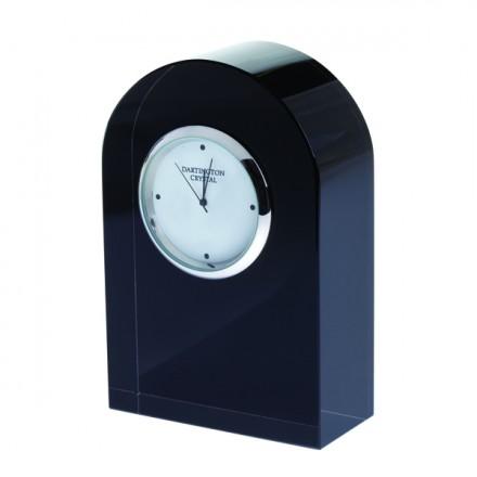 $75.00 Small Curve Clock - Black