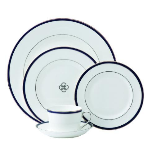 $70.00 Oxford Blue 5pc Place setting