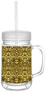 $18.75 Mason Jar-Gold