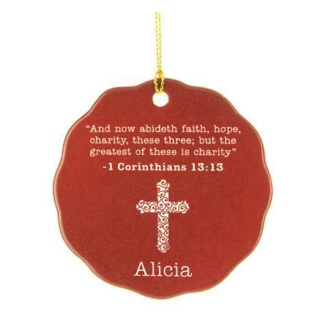 $16.00 Ornament-Corinthians