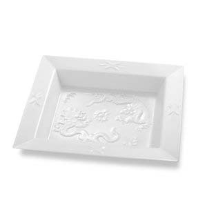 $149.00 Dragon Square Dish 8""
