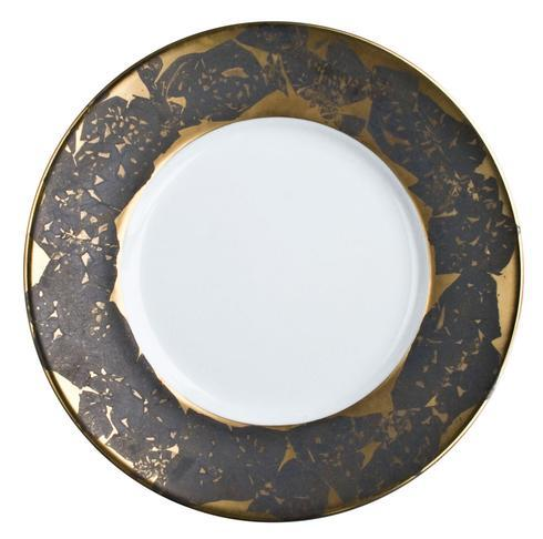Feuille Black Gold Bread & Butter Plate collection with 1 products