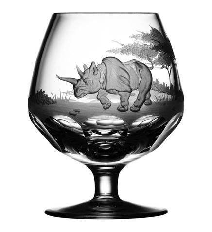 $250.00 Rhino Brandy Snifter