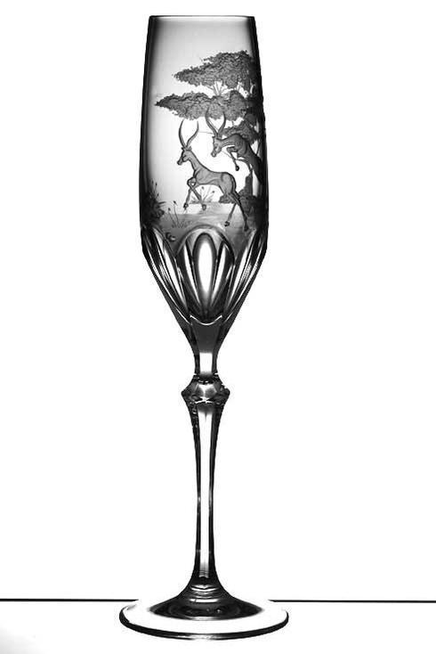 $250.00 Gazelle Champagne Flute