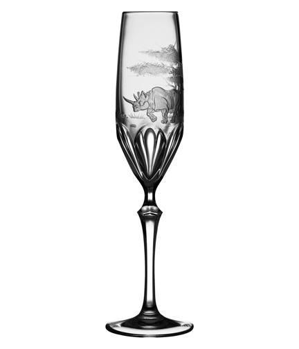 $250.00 Rhino Champagne Flute