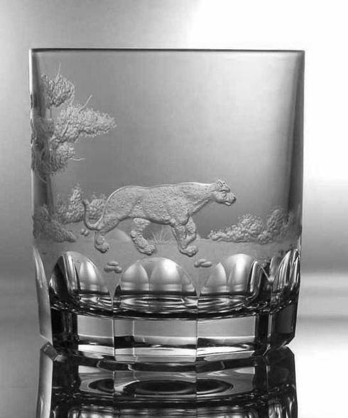 Leopard Double Old Fashioned Glass image