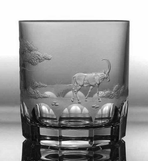 $250.00 Antilope Double Old Fashioned Glass