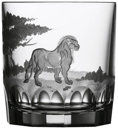 Lion Double Old Fashioned Glass image
