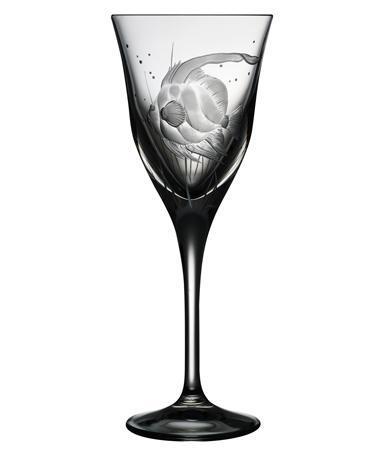 $125.00 Sailfish Water Glass