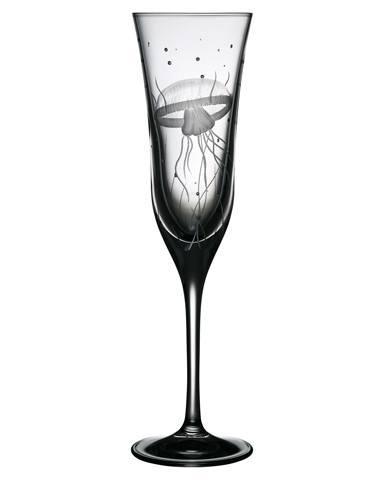 $125.00 Medusa Champagne Flute