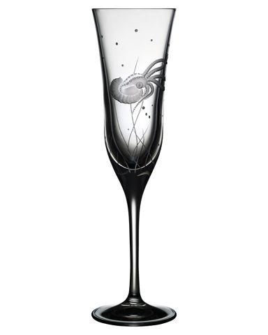 $125.00 Octopus Champagne Flute