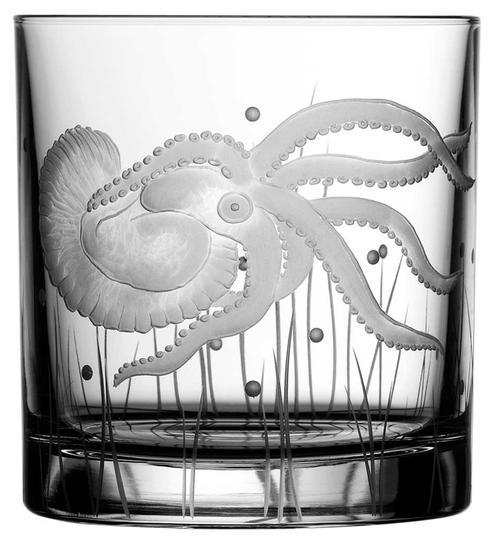 $125.00 Octopus Double Old Fashioned