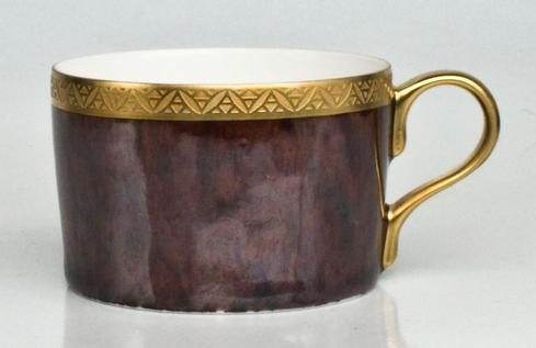Tortoise Incrustation Gold Finition Tea Cup collection with 1 products